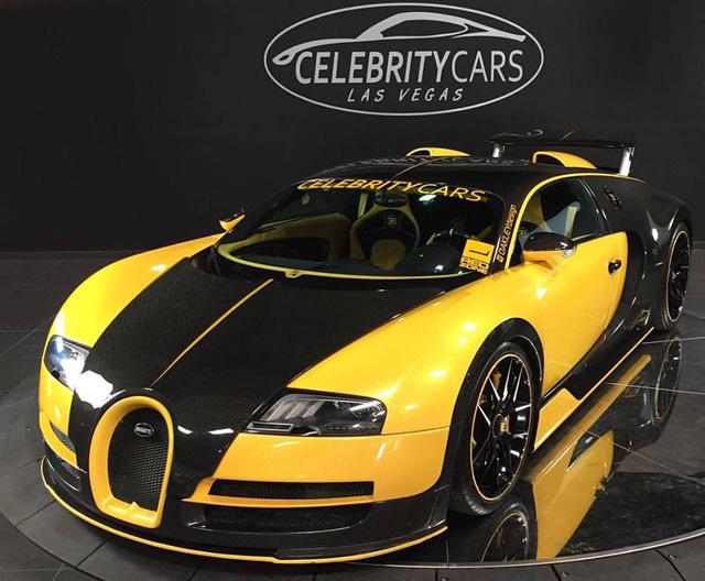 Ông hoàng tốc độ Bugatti Veyron độ Oakley Design được rao bán giá 44 tỷ Đồng - ảnh 1