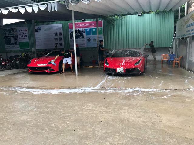 Dàn siêu xe Ferrari và Lamborghini của đại gia Sài thành tụ tập tại quận 2 - Ảnh 4.