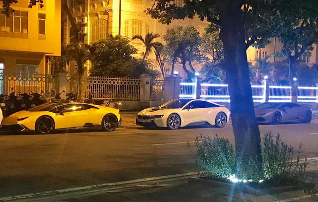Chevrolet Corvette C7 Z06 Nha Trang dự tiệc đêm cùng dàn siêu xe độ khủng của đại gia Đà thành - Ảnh 3.