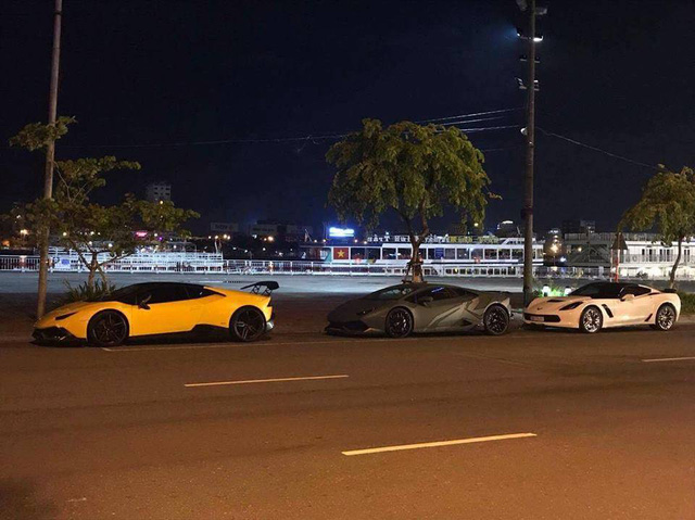 Chevrolet Corvette C7 Z06 Nha Trang dự tiệc đêm cùng dàn siêu xe độ khủng của đại gia Đà thành - Ảnh 2.