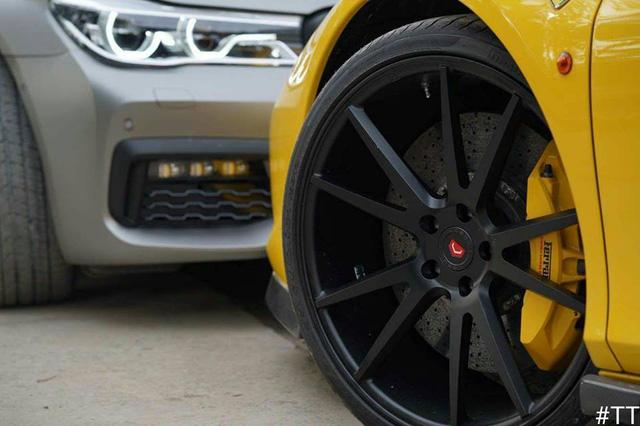 Cặp đôi siêu xe độ Ferrari 458 Italia và Audi R8 phượt xuống Vũng Tàu - Ảnh 3.