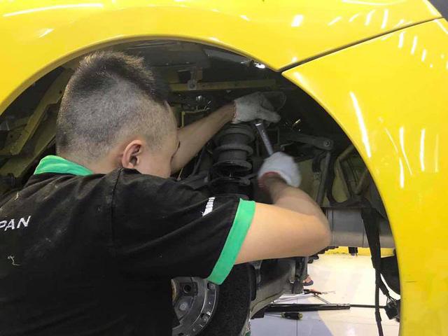Siêu xe Ferrari 458 Italia đầu tiên tại Việt Nam chuẩn bị độ Liberty Walk - Ảnh 8.