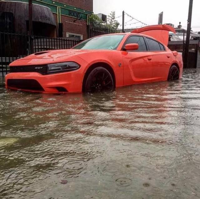 Nhiều siêu xe và xe thể thao chìm trong nước lũ sau cơn bão Harvey tại Mỹ - ảnh 5