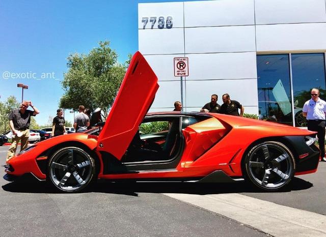 Siêu phẩm Lamborghini Centenario xuất hiện tại kinh đô cờ bạc Las Vegas - Ảnh 3.