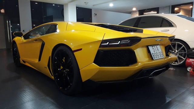Lamborghini Aventador biển tứ quý 9 độ pô IPE trong nhà Cường Đô-la - Ảnh 2.