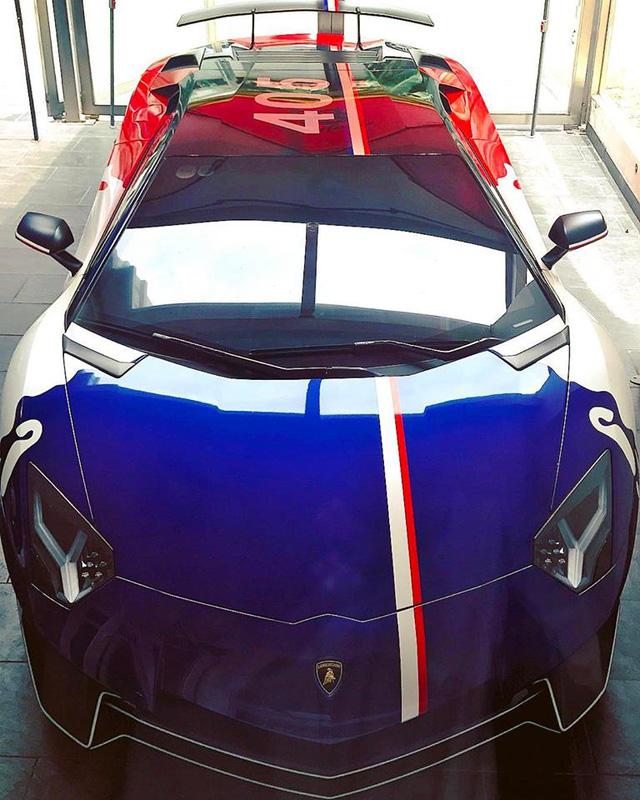Minh Nhựa thay đổi ngoại thất cho siêu xe Lamborghini Aventador SV 32 tỷ Đồng - Ảnh 1.