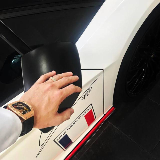 Minh Nhựa thay đổi ngoại thất cho siêu xe Lamborghini Aventador SV 32 tỷ Đồng - Ảnh 2.
