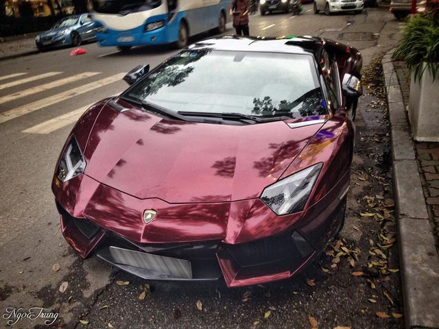 Thiếu gia 96 thay đổi màu sơn độc cho Lamborghini Aventador mui trần đầu tiên Việt Nam - Ảnh 5.