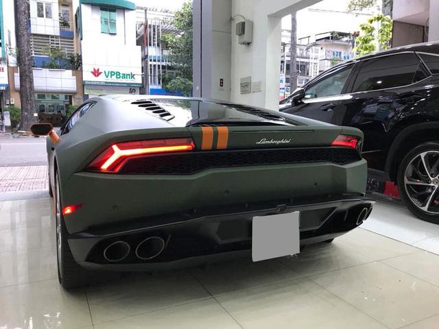 Lamborghini Huracan từng độ mâm bản giới hạn 273 triệu Đồng đang được chủ nhân rao bán - Ảnh 3.