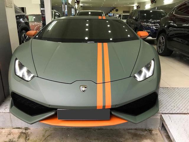 Lamborghini Huracan từng độ mâm bản giới hạn 273 triệu Đồng đang được chủ nhân rao bán - Ảnh 1.