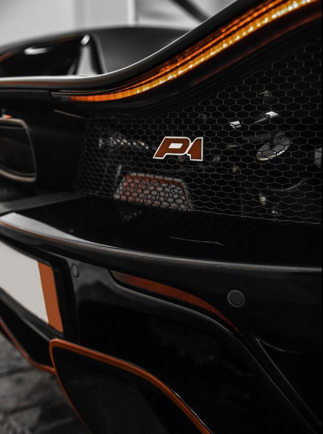 Đây là chiếc McLaren P1 MSO duy nhất trên thế giới được trang bị bộ áo đen mờ - Ảnh 5.