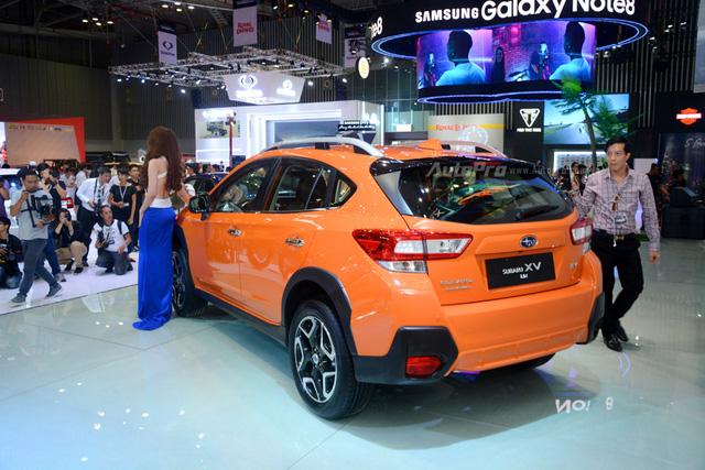 Cận cảnh Subaru XV 2018 có giá bán 1,55 tỷ Đồng tại Việt Nam - Ảnh 5.