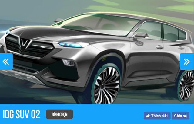 Thiết kế xe VINFAST của nhà thiết kế nào nào đang được người Việt chọn nhiều nhất sau 6 tiếng? - Ảnh 3.