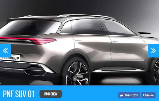 Thiết kế xe VINFAST của nhà thiết kế nào nào đang được người Việt chọn nhiều nhất sau 6 tiếng? - Ảnh 7.
