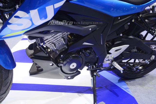 Cận cảnh Suzuki GSX-S150, đối thủ chính của Yamaha TFX 150 tại Việt Nam - Ảnh 11.