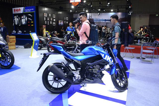 Cận cảnh Suzuki GSX-S150, đối thủ chính của Yamaha TFX 150 tại Việt Nam - Ảnh 3.