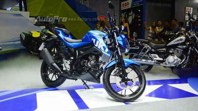 Cận cảnh phiên bản Touring của Suzuki GSX-S150 mới ra mắt Việt Nam - Ảnh 8.