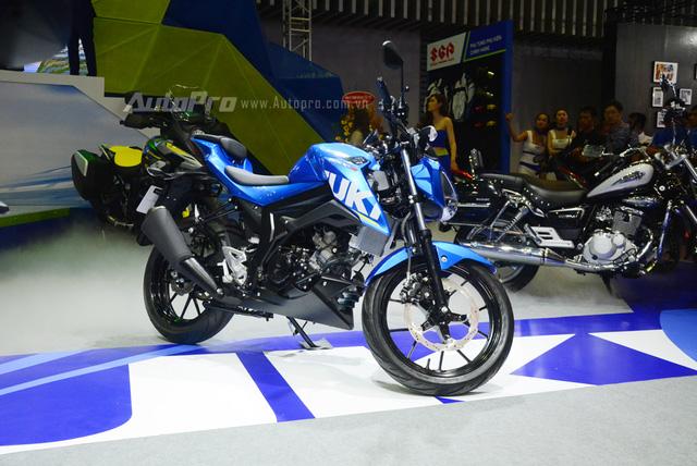 Cận cảnh Suzuki GSX-S150, đối thủ chính của Yamaha TFX 150 tại Việt Nam - Ảnh 2.