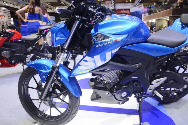 Cận cảnh Suzuki GSX-S150, đối thủ chính của Yamaha TFX 150 tại Việt Nam - Ảnh 12.