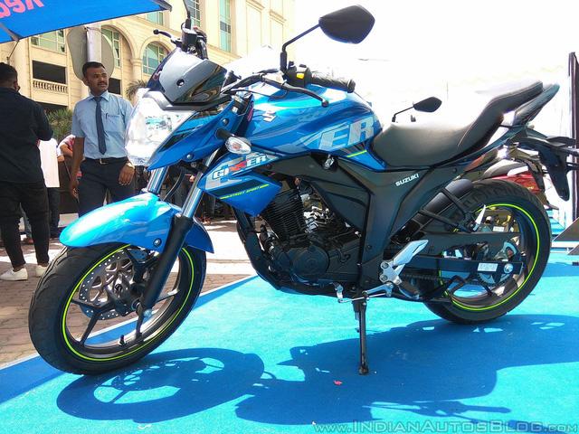 Xe côn tay Suzuki Gixxer 2017 với vành hợp kim 2 màu xuất hiện tại đại lý - Ảnh 7.