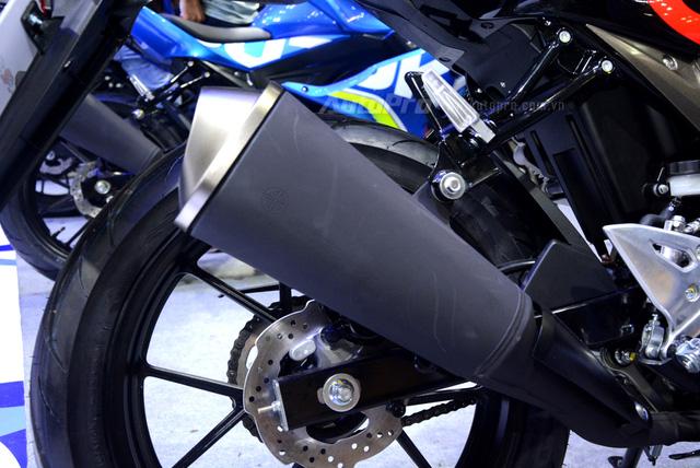 Cận cảnh Suzuki GSX-R150, đối thủ chính của Yamaha R15 và Honda CBR150R - Ảnh 15.