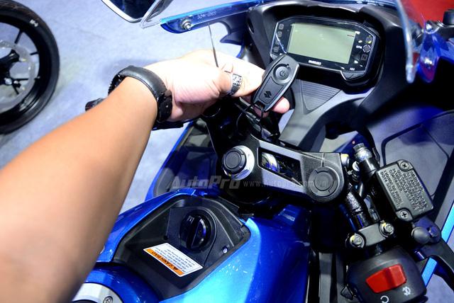 Cận cảnh Suzuki GSX-R150, đối thủ chính của Yamaha R15 và Honda CBR150R - Ảnh 13.