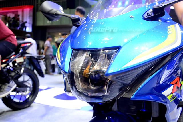 Cận cảnh Suzuki GSX-R150, đối thủ chính của Yamaha R15 và Honda CBR150R - Ảnh 8.