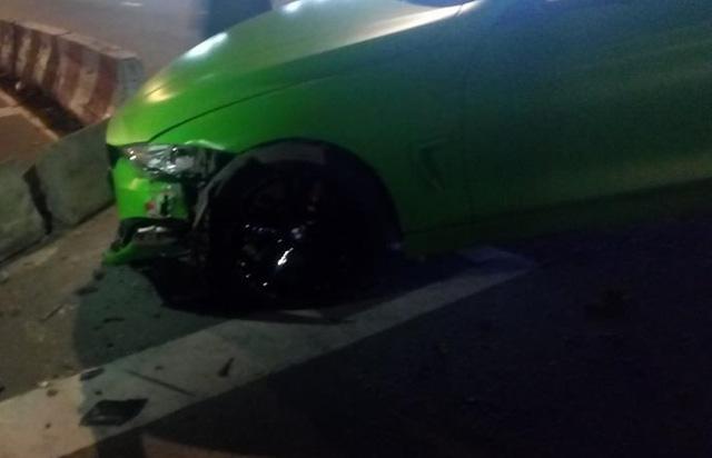 BMW 4-Series Coupe màu hiếm gặp nạn tại Sài thành - Ảnh 2.