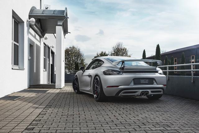 Porsche 718 Boxster có thể nâng gầm 6 cm nhờ gói độ của TechArt - Ảnh 2.