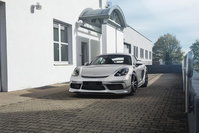Porsche 718 Boxster có thể nâng gầm 6 cm nhờ gói độ của TechArt - Ảnh 4.