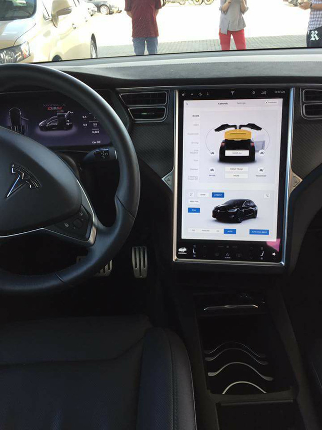 SUV điện Tesla Model X P100D thứ 2 cập bến tại Việt Nam, giá từ 8 tỷ Đồng - Ảnh 5.
