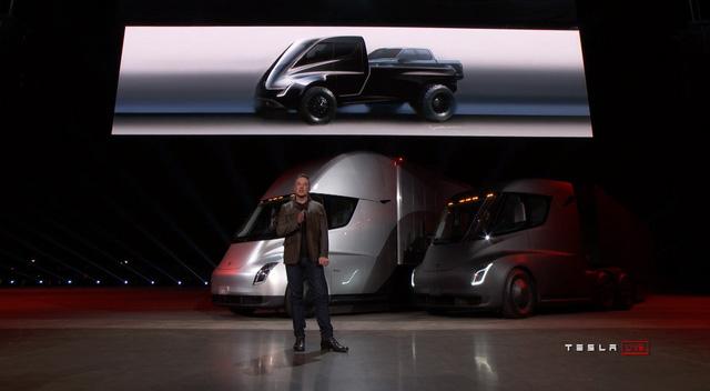 Xe bán tải của Tesla sẽ có kiểu dáng kì dị? - Ảnh 1.
