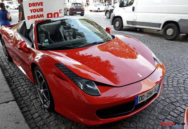Cho thuê siêu xe như bán hàng rong vỉa hè tại Paris - Ảnh 3.