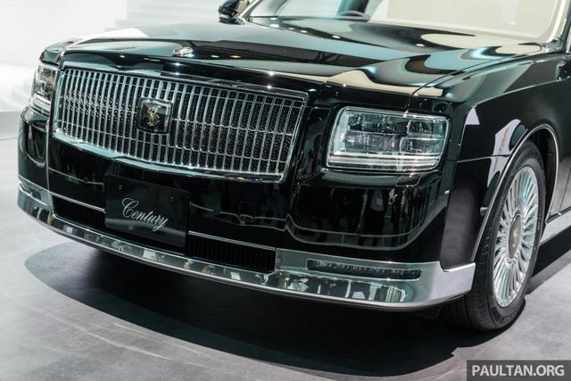 Chiêm ngưỡng vẻ đẹp hoài cổ của limousine 4 cửa Toyota Century 2018 ngoài đời thực - Ảnh 4.