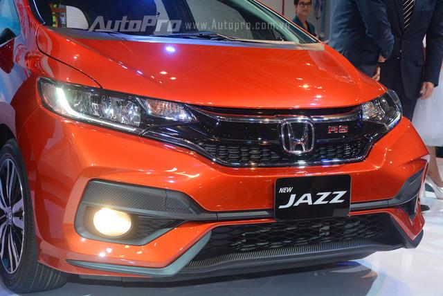 Chi tiết đầu xe Honda Jazz 2018 màu cam | Giá xe Honda Jazz 2018 tốt nhất - 0917325699