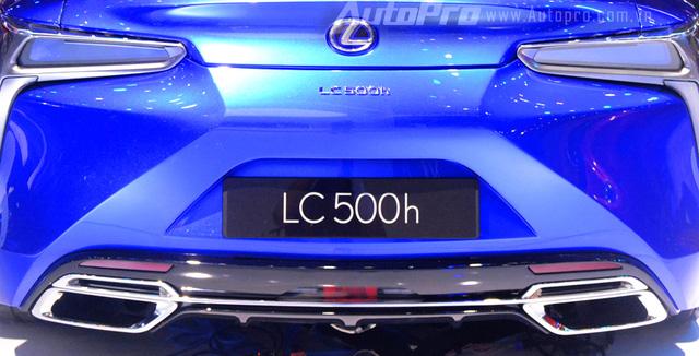 Lexus LC 500h 2018 đầu tiên xuất hiện tại Việt Nam - Ảnh 11.