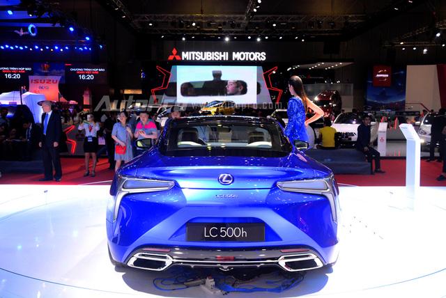 Lexus LC 500h 2018 đầu tiên xuất hiện tại Việt Nam - Ảnh 8.