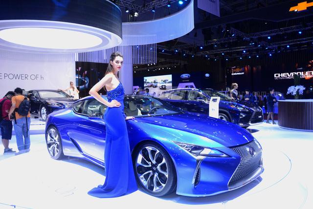 Lexus LC 500h 2018 đầu tiên xuất hiện tại Việt Nam - Ảnh 3.