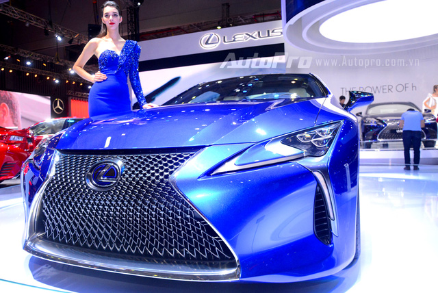 Lexus LC 500h 2018 đầu tiên xuất hiện tại Việt Nam - Ảnh 2.