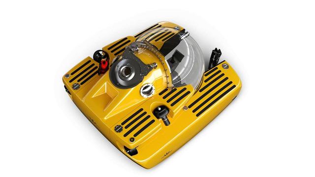 Tàu ngầm của Aston Martin - đủ cho 3 người, đi dưới biển 6,4km/h, lặn sâu 500m - Ảnh 1.