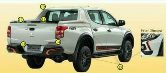 Mitsubishi Triton sắp ra mắt phiên bản đặc biệt - Ảnh 1.