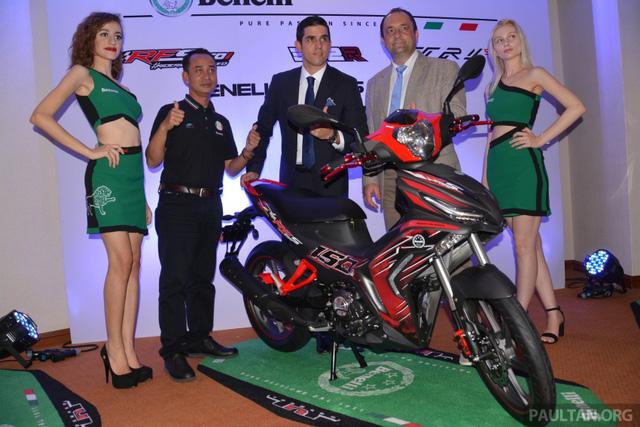 Benelli ra mắt xe côn tay 150 phân khối mới, cạnh tranh Yamaha Exciter - Ảnh 1.