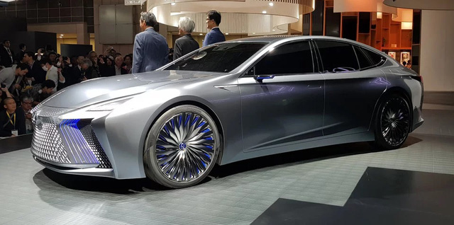LS+ Concept - Hình ảnh xem trước cho sedan hạng sang đầu bảng của Lexus - Ảnh 11.