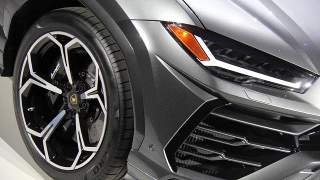 Ảnh thực tế siêu SUV Lamborghini Urus vừa ra mắt - Ảnh 7.