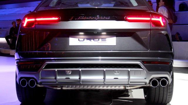Ảnh thực tế siêu SUV Lamborghini Urus vừa ra mắt - Ảnh 8.