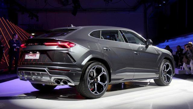 Ảnh thực tế siêu SUV Lamborghini Urus vừa ra mắt - Ảnh 4.