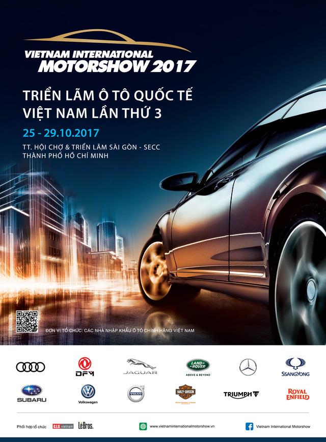 9 hãng xe hơi và 3 hãng xe máy sẽ tham gia triển lãm VIMS 2017 - Ảnh 1.