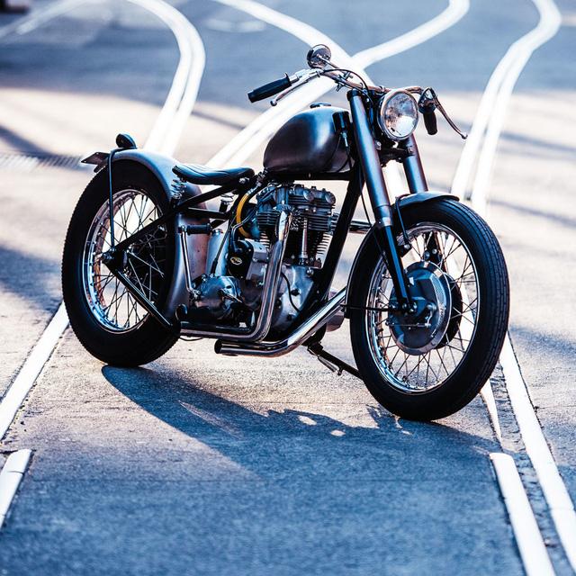 """Triumph TR6 đời 1969 độ phong cách Bobber cực """"dị"""" - Ảnh 1."""
