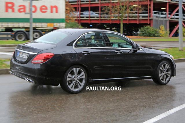 Mercedes-Benz C-Class bản nâng cấp mới lộ diện - Ảnh 4.