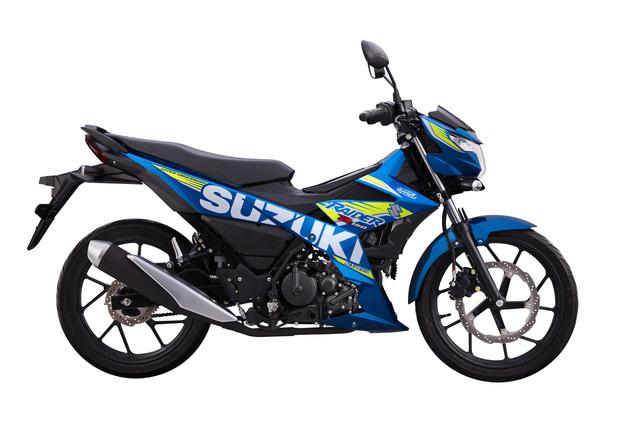 Cạnh tranh Yamaha Exciter, Suzuki Raider tung phiên bản mới tại Việt Nam - Ảnh 4.